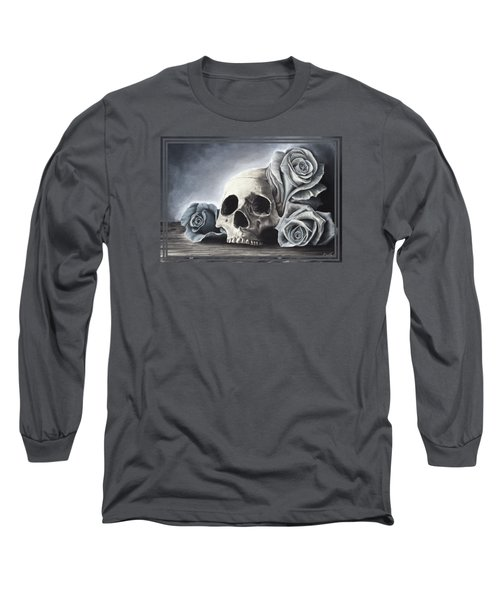 Death By The Rose Long Sleeve T-Shirt