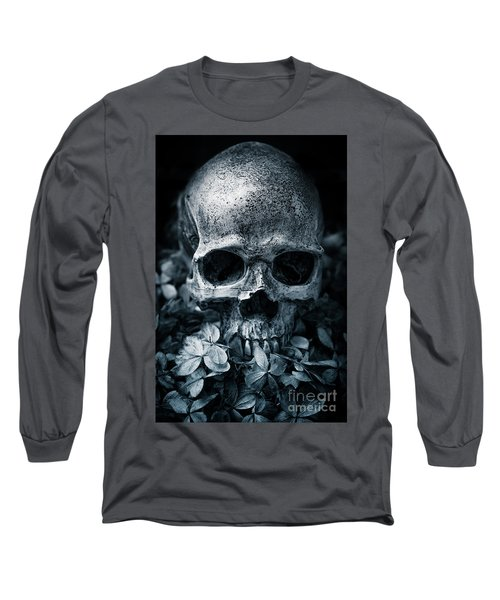 Long Sleeve T-Shirt featuring the photograph Death Comes To Us All by Edward Fielding