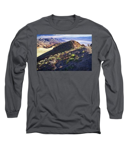 Death Valley At Spring Long Sleeve T-Shirt