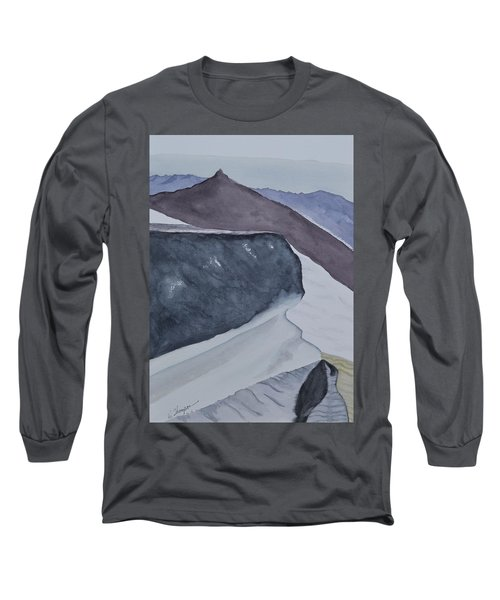 Death Valley Dunes At Sunrise Long Sleeve T-Shirt by Warren Thompson