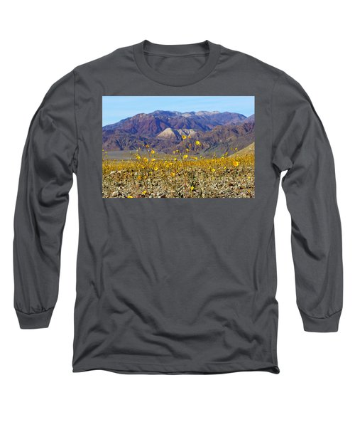 Long Sleeve T-Shirt featuring the photograph Death Valley Superbloom 405 by Daniel Woodrum