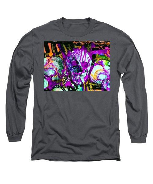 Deathstudy-1 Long Sleeve T-Shirt