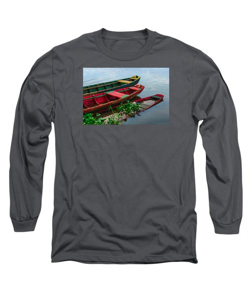 Decaying Boats Long Sleeve T-Shirt by Celso Bressan
