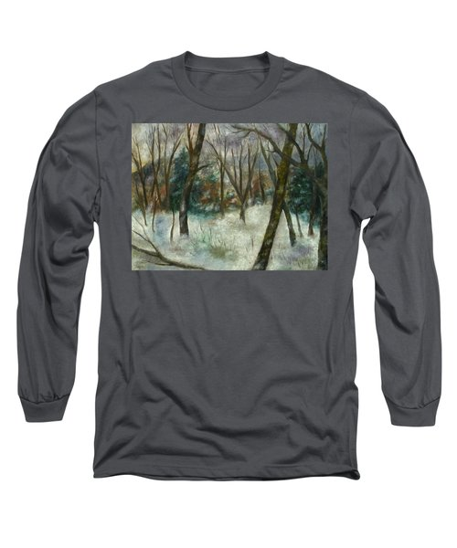 December On Cooper Hill Long Sleeve T-Shirt