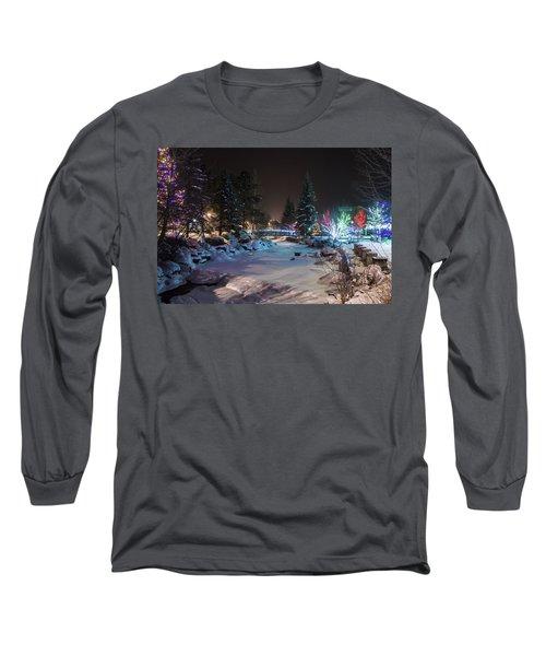 December On The Riverwalk Long Sleeve T-Shirt