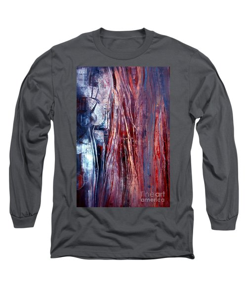 Decision Time Long Sleeve T-Shirt by Valerie Travers