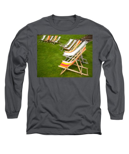 Deck Chairs Long Sleeve T-Shirt