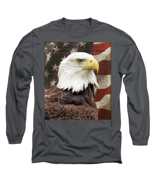 Declaration Of Independence Long Sleeve T-Shirt