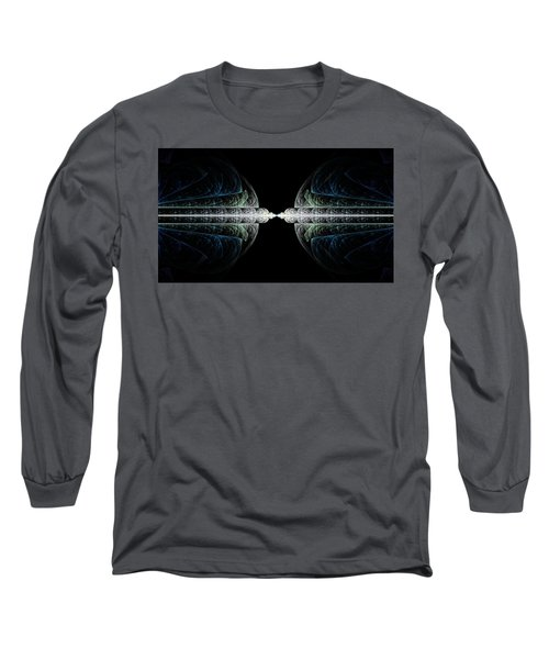 Long Sleeve T-Shirt featuring the digital art Deco And Diamonds by Lea Wiggins
