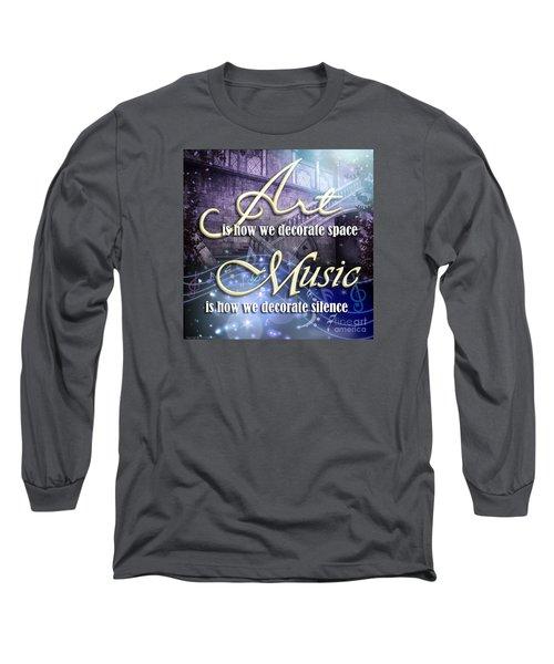 Decorate Long Sleeve T-Shirt