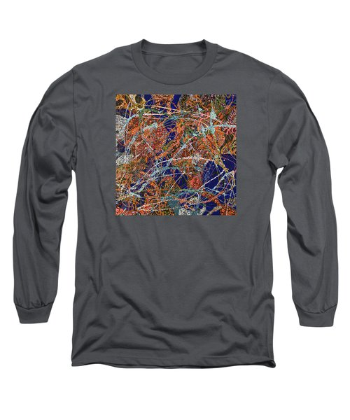 Deep Blue  Long Sleeve T-Shirt