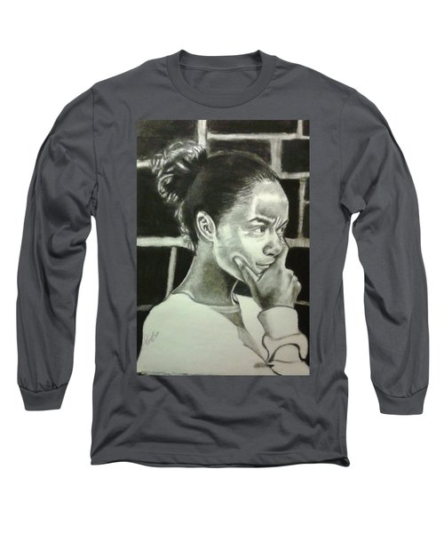 Deep Thinking Long Sleeve T-Shirt