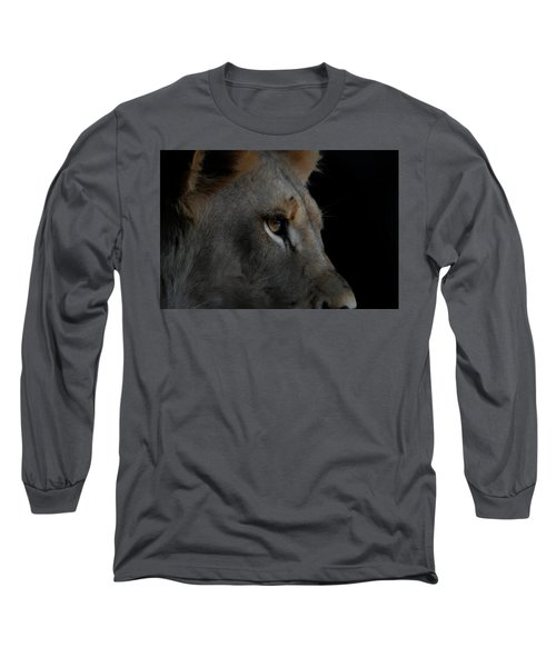 Long Sleeve T-Shirt featuring the digital art Deep Thought by Ernie Echols