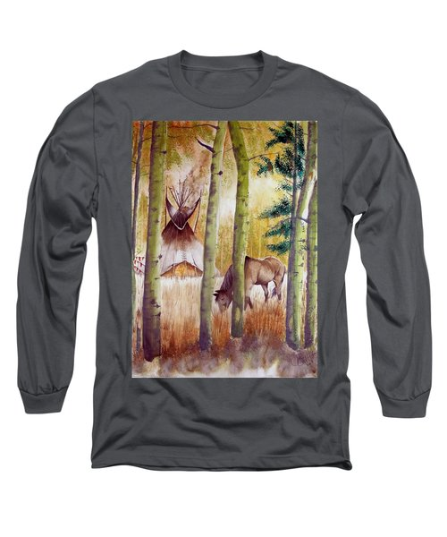 Deep Woods Camp Long Sleeve T-Shirt