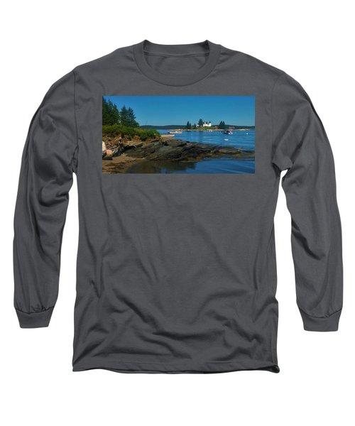 Deer Island Maine Long Sleeve T-Shirt
