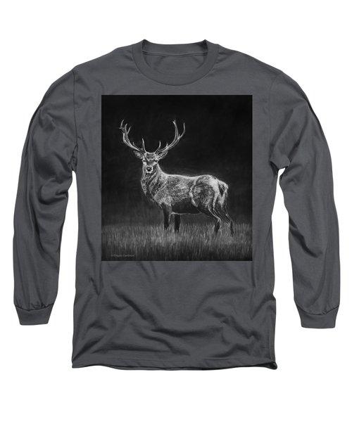 Deer Sketch Long Sleeve T-Shirt