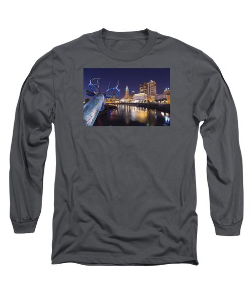 Deer View Columbus Long Sleeve T-Shirt