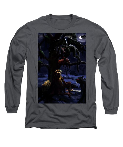 Defeated Hero Long Sleeve T-Shirt