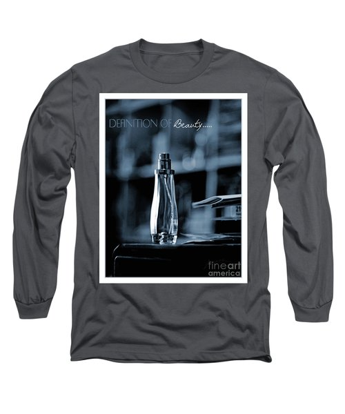 Definition Of Beauty Blue Long Sleeve T-Shirt