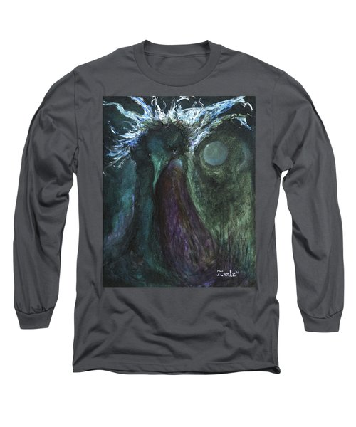 Deformed Transcendence Long Sleeve T-Shirt by Christophe Ennis