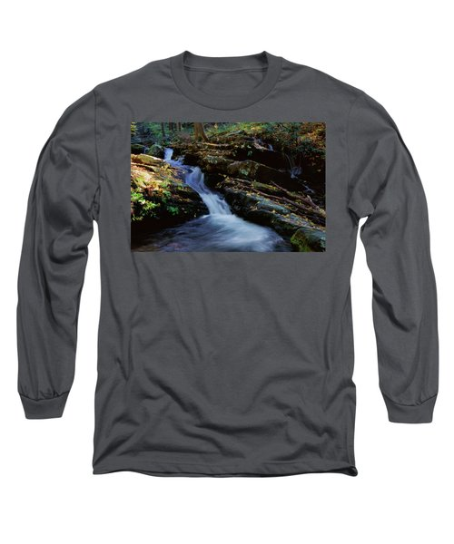 Delaware Water Gap 020 Long Sleeve T-Shirt by Scott McAllister