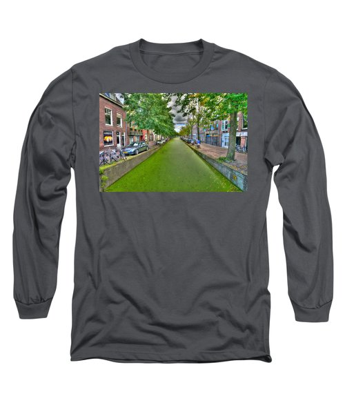 Delft Canals Long Sleeve T-Shirt