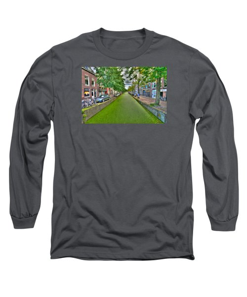 Delft Canals Long Sleeve T-Shirt