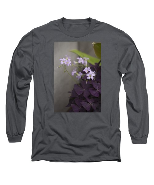 Delicate And Dark Long Sleeve T-Shirt by Morris  McClung