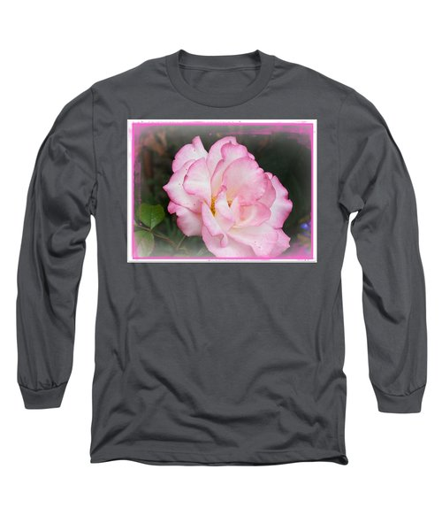 Delicate Pink Petals Long Sleeve T-Shirt