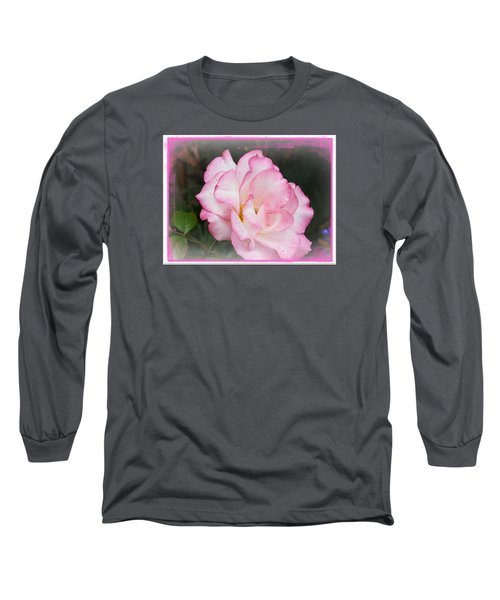 Delicate Pink Petals Long Sleeve T-Shirt