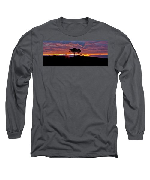 Long Sleeve T-Shirt featuring the photograph Delightful Awakenings by Az Jackson
