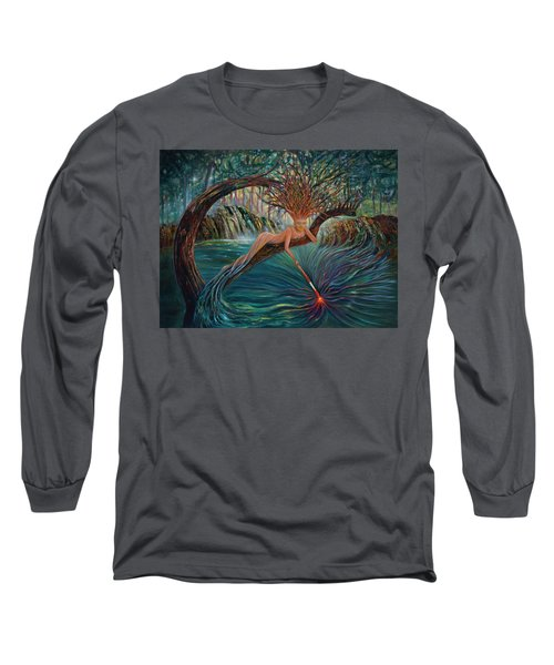 Deliverance Long Sleeve T-Shirt by Claudia Goodell