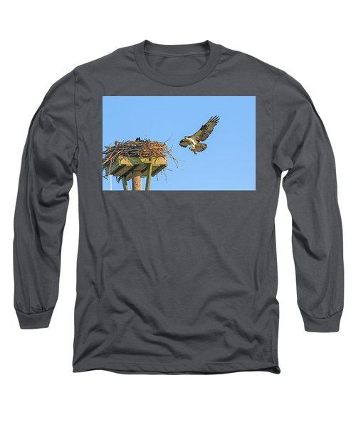Delivering Breakfast Long Sleeve T-Shirt