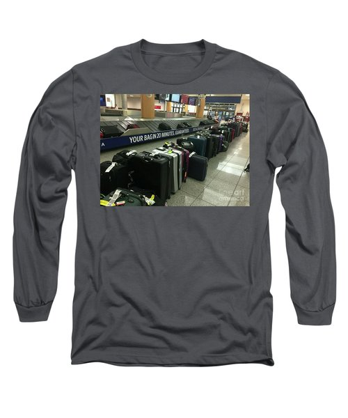 Long Sleeve T-Shirt featuring the photograph Delta Irony by David Bearden