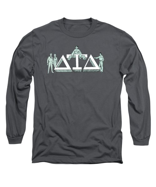 Delts Long Sleeve T-Shirt by Julio Lopez