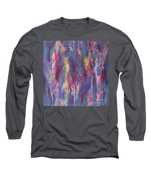 Long Sleeve T-Shirt featuring the painting Delve Deep 2 by Mini Arora