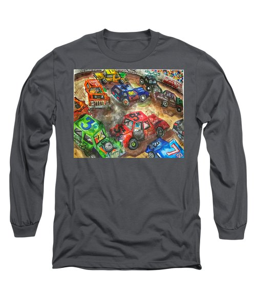 Demo Derby One Long Sleeve T-Shirt by Jame Hayes