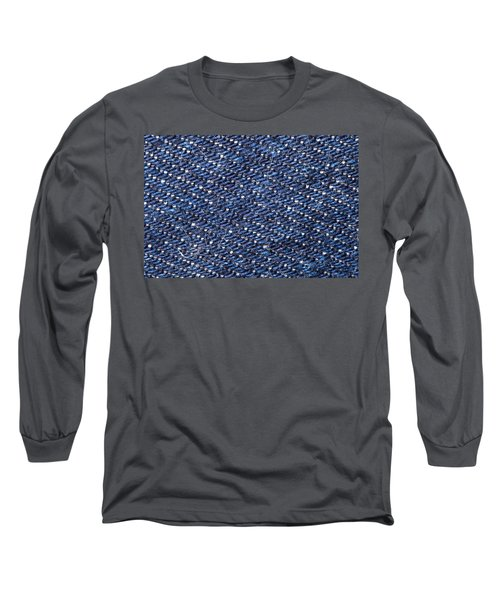 Denim 674 Long Sleeve T-Shirt by Michael Fryd