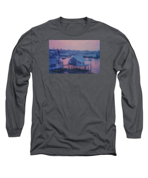 Departing Nantucket Long Sleeve T-Shirt