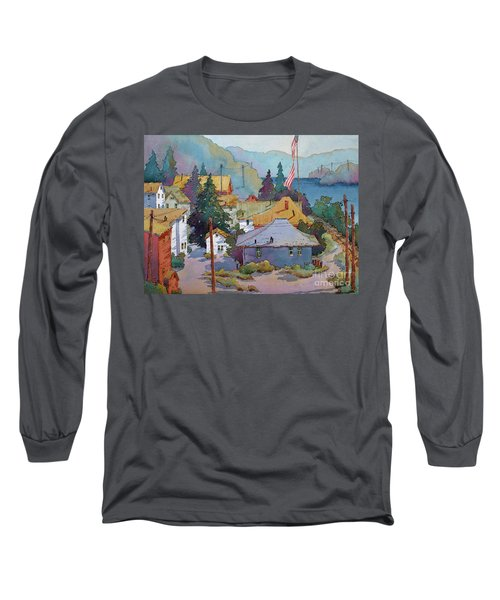Depot By The River Long Sleeve T-Shirt