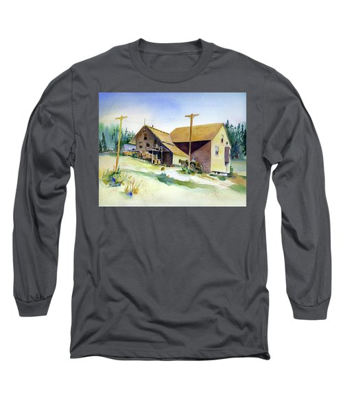 Depot Hill, Dutch Flat,1910 Long Sleeve T-Shirt