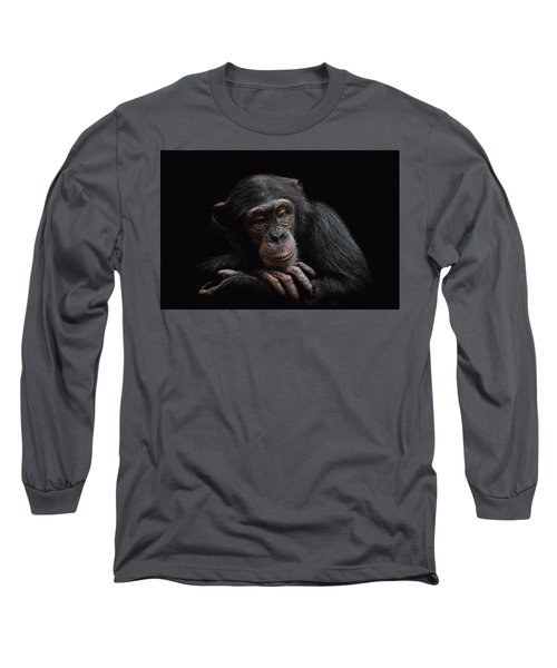 Depression  Long Sleeve T-Shirt by Paul Neville