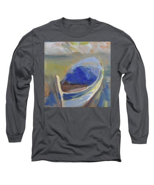 Derek's Boat. Long Sleeve T-Shirt by Julie Todd-Cundiff