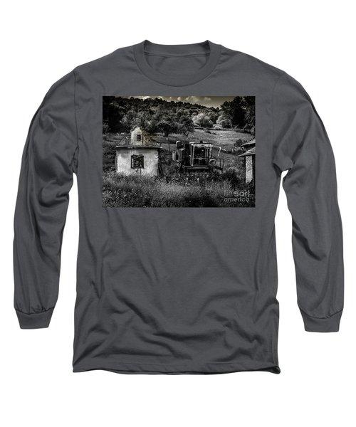 Derelict Farm, Transylvania Long Sleeve T-Shirt