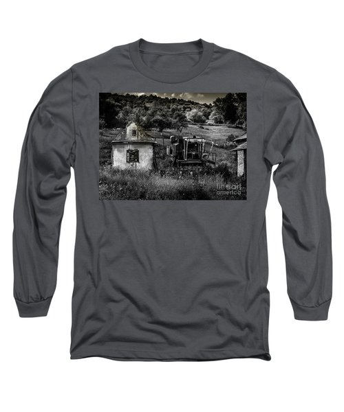 Derelict Farm, Transylvania Long Sleeve T-Shirt