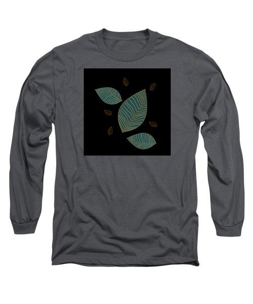 Descending Leaves Long Sleeve T-Shirt