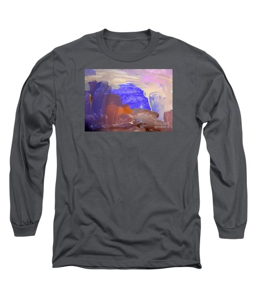 Desert By Hannah Long Sleeve T-Shirt by Fred Wilson