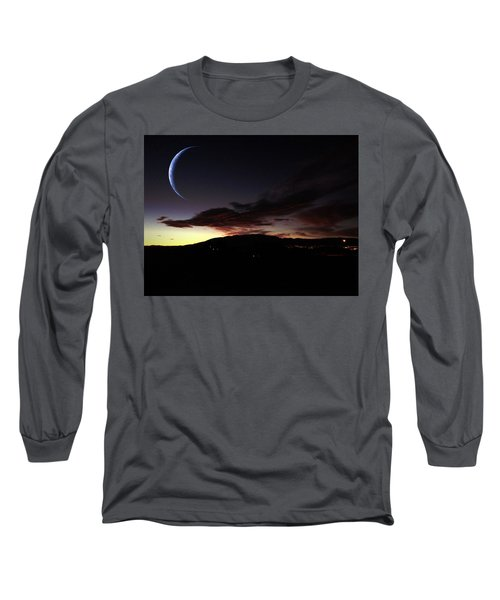 Desert Crescent Long Sleeve T-Shirt
