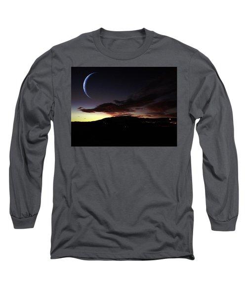 Desert Crescent Long Sleeve T-Shirt