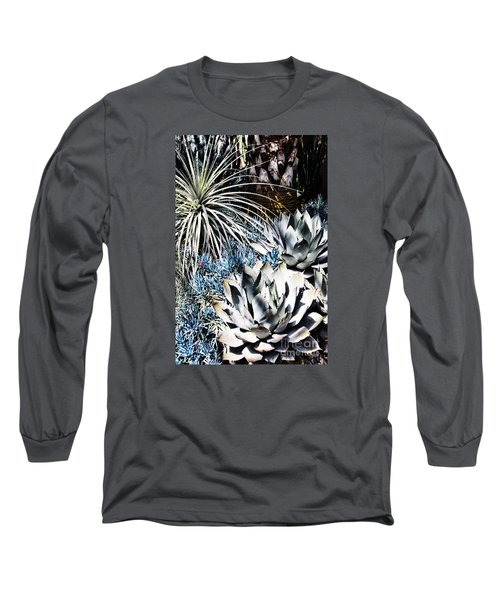 Desert Garden Long Sleeve T-Shirt by Judy Wolinsky